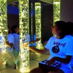 Sala d'estimulació sensorial al centre ocupacional Asproseat Proa Esplugues